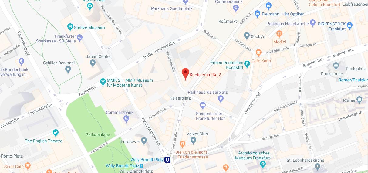 Karte Parkmöglichkeiten